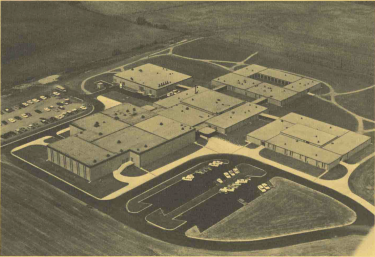 This photo is from the brochure celebrating Northfield High School's opening in 1966.