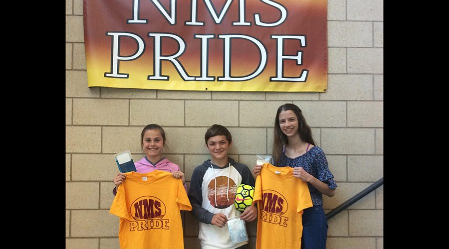 Northfield Middle School PRIDE Honors