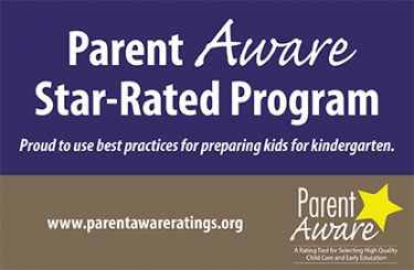 Parent Aware Logo for preschool accreditation rating