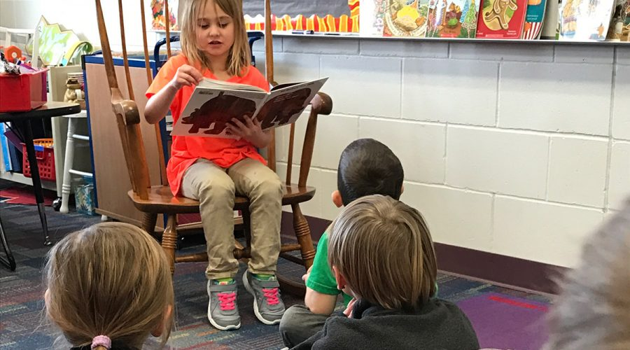 Student Reading Aloud