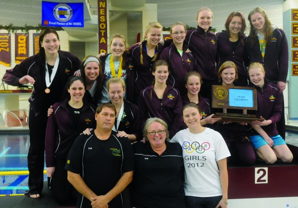 Girls Swim and Dive Team Wins State in 20120